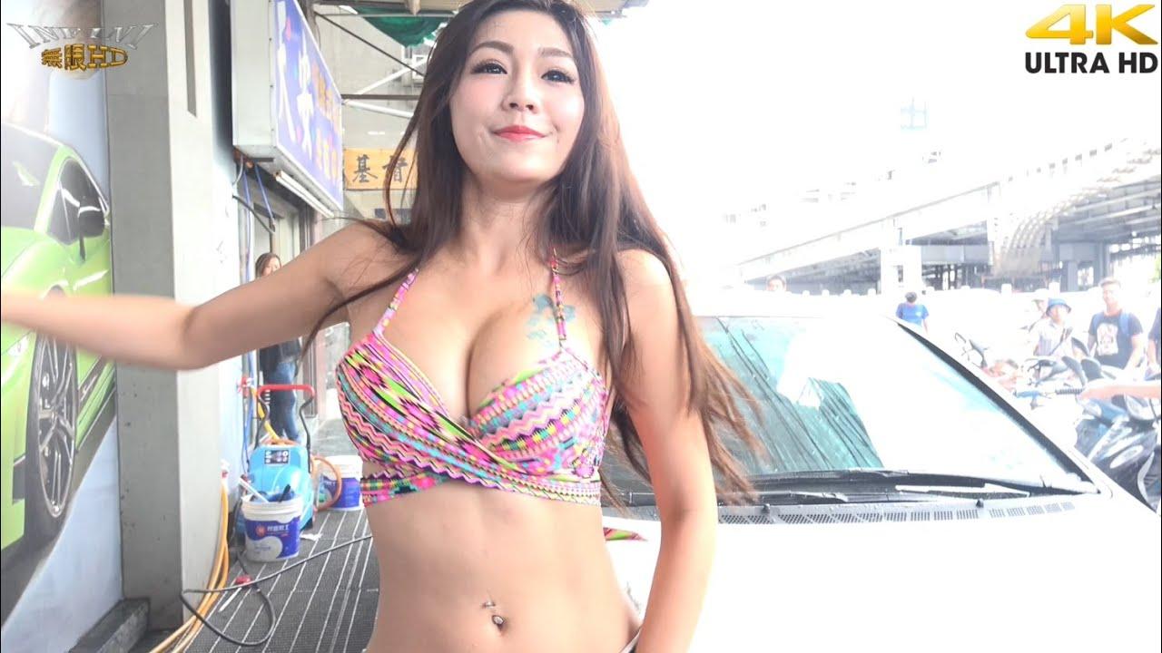 Bikini youtube girl try on 6