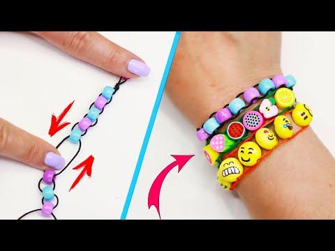 DIY БРАСЛЕТ из ниток или АНТИСТРЕСС игрушка своими руками! DIY Fidget bracelet easy