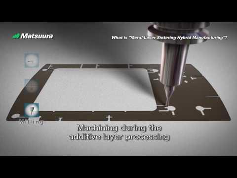 Hybrid Metal Laser Sintering & Milling Machine