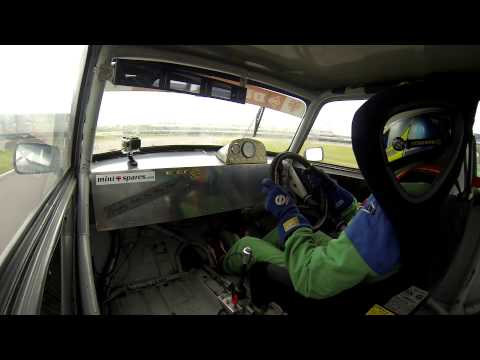 Max Hunter Mini7 Rockingham Race 2 Highlights