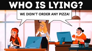 Pizza Guy's Daily Routine 🍕 Tricky Riddles That Will Stump You