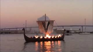 vikings funeral comic con 2017