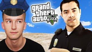 GTA V Policja #1 - ROZPOCZYNAMY SŁUŻBĘ!