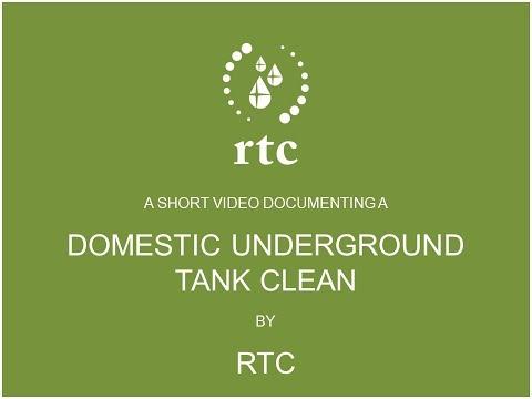 DOMESTIC RAINWATER TANK CLEAN BY RTC