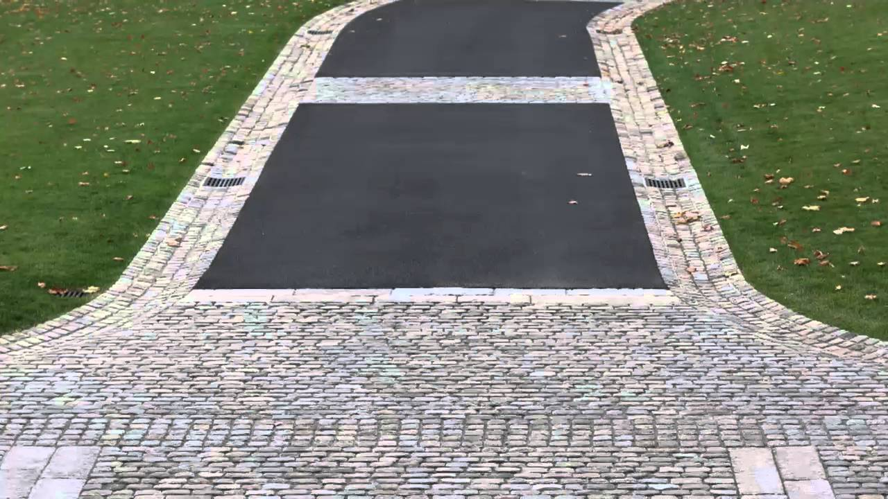 A European Cobblestone Driveway Youtube
