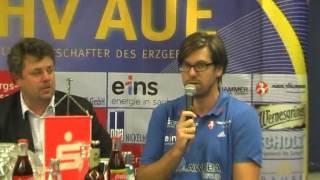 Pressekonferenz DHB Pokal EHV Aue-TuS Ferndorf