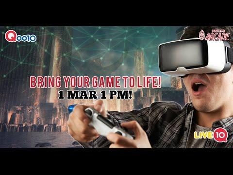 Qoo10 Singapore X Ignite VR Arcade