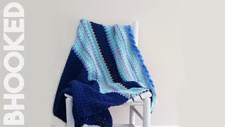 How To Crochet Baby Waves Afghan