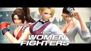 the king of fighters xiv team women fighters trailer