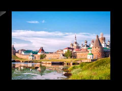 Solovetsky Transfiguration Monastery-in the Russian North before being turned into a