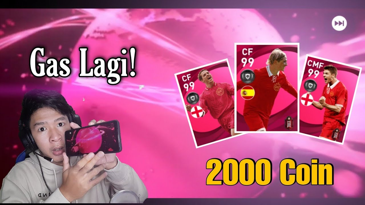 OPEN PACK 2K COIN ICONIC MOMENT LIVERPOOL R EFOOTBALL 2021 MOBILE INDONESIA