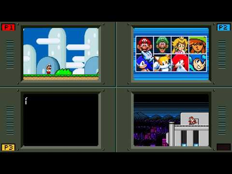 Smash Bros  Fan Game Takes The Characters Back To Their 8-Bit And 16