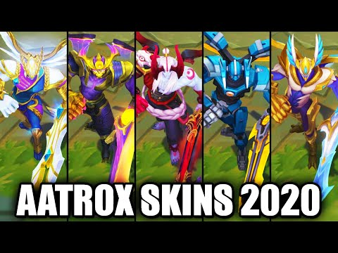 All Aatrox Skins Spotlight 2020 (League of Legends)