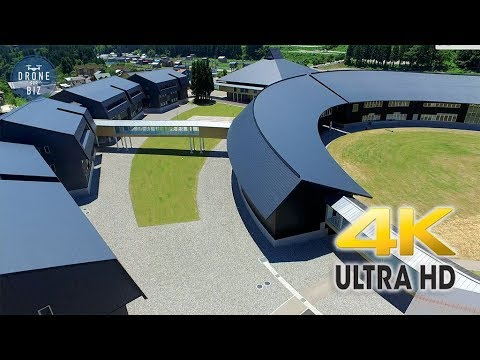 ドローン空撮(石川県)金沢工業大学 4K 高画質ドローン空撮 [DFB]