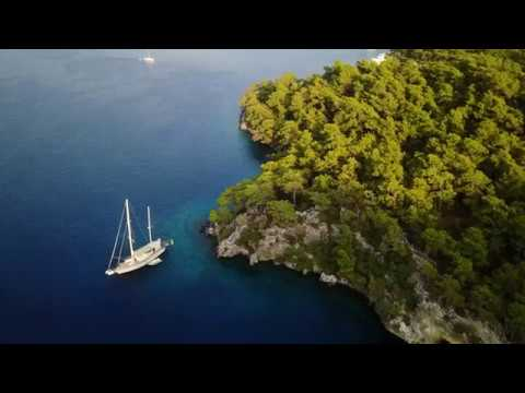 Sailing in Turkey - Muğla Province in 4K