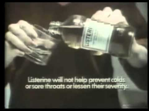 Listerine Mouthwash Commercial (1978)