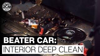 Reviving 200,000 Mile Beater Car Interior! - Chemical Guys