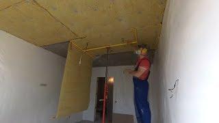 як зробити шумоізоляцію стелі в квартирі під натяжна стеля