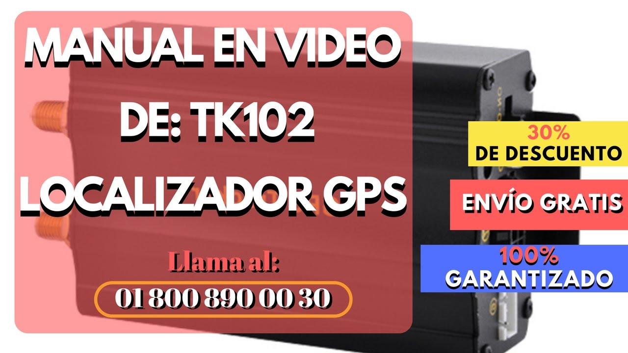 gps 102 tracker manual