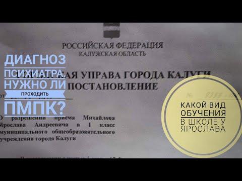 Общеобразовательная школа для ребенка с ДЦП.  Диагноз психиатра. Какой вид обучения у Ярослава.