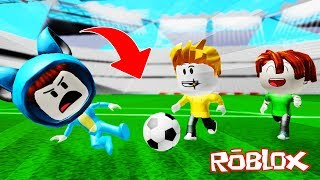 THE BEST FOOTBALLERS IN THE WORLD!! FUTBOL ROBLOX 💙💚💛 DRINK MILO VITA AND ADRI 😍 AMIWITOS