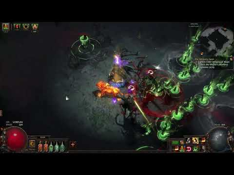 POE Abyss 3.1 Abyssal Lich (Amanamu Liege Of The Lightless) Tombfist Steel Gaunlets