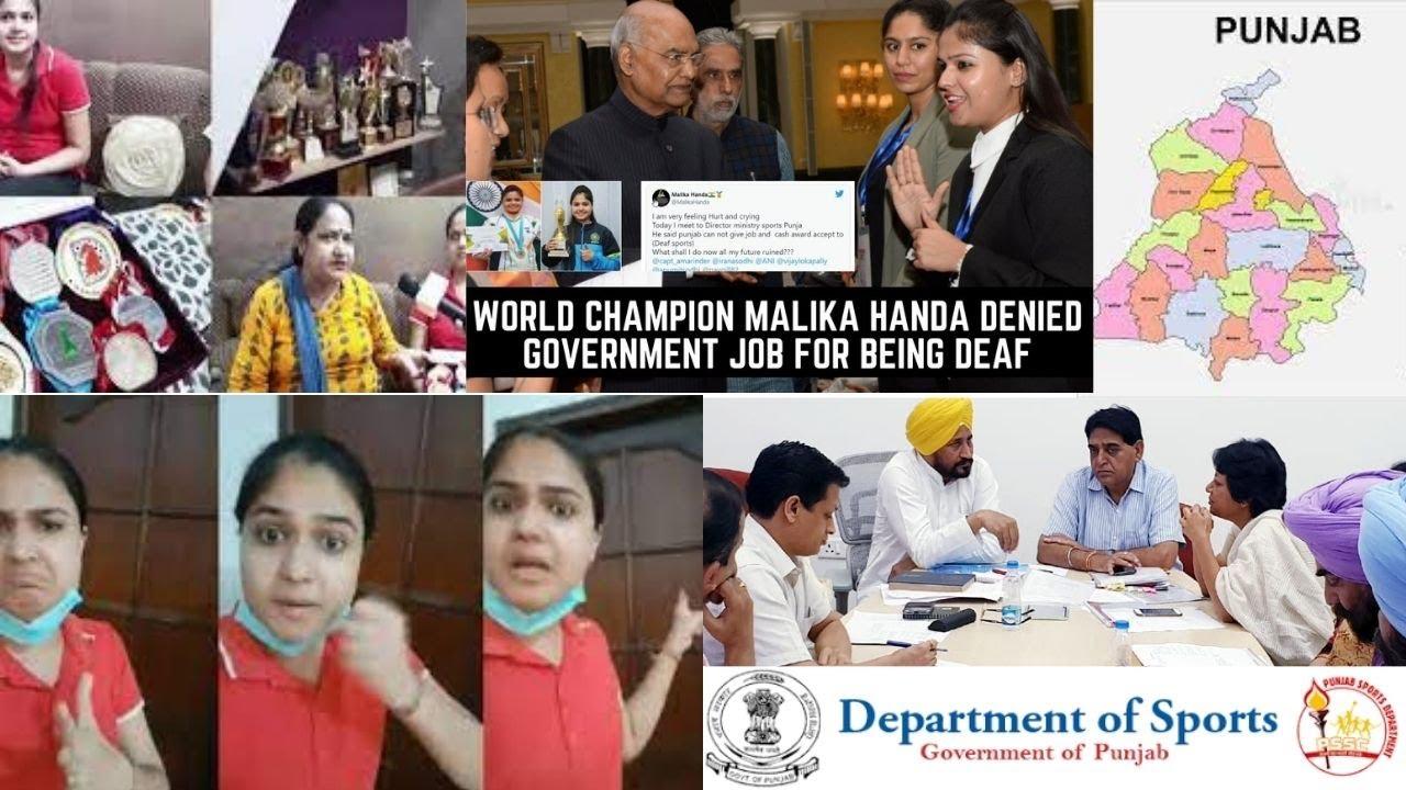 7-time national deaf chess champion Malika claims Punjab govt declined job & cash award