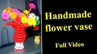 Handmade flower vase - Full Video