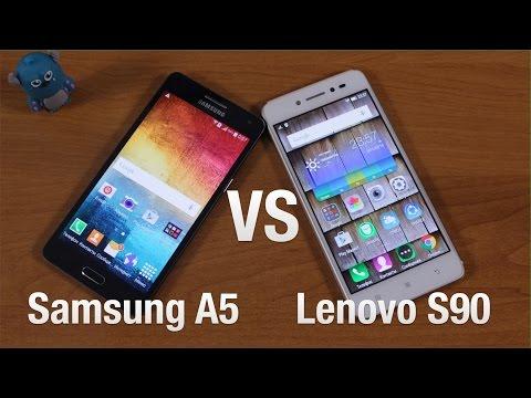 Samsung Galaxy A5 vs Lenovo S90 Сравнение