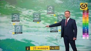 Прогноз погоды на 25 января: готовьтесь к мокрому снегу, дождю и ветру