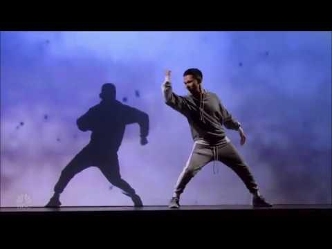 Canion Shijirbat: Visual Artist FOOLS Simon Cowell with Optics | America's Got Talent 2017