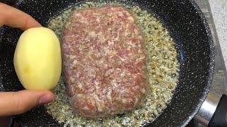 Этот рецепт от бабушки ошеломил всех гостей Легкий сытный ужин из картошки и фарша