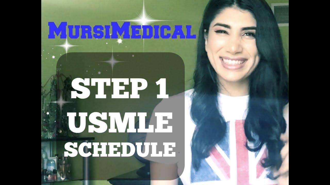 Step 1 USMLE - 6 Month Schedule