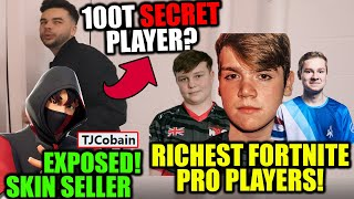 Skin Selling EXPOSED..(DO NOT TRUST) Most Pro MONEY Won in Fortnite! 100T Secret Player??