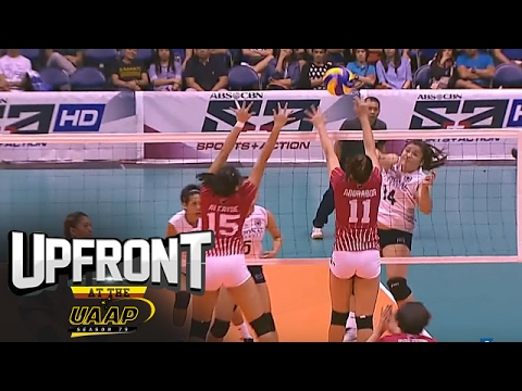 UAAP 79 Women's Volleyball | Top Plays | Upfront at the UAAP