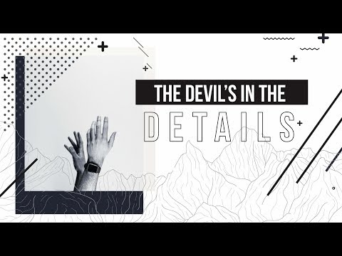 The Devil's In The Details: Pastor John Wesley Withrow - March 14th, 2018
