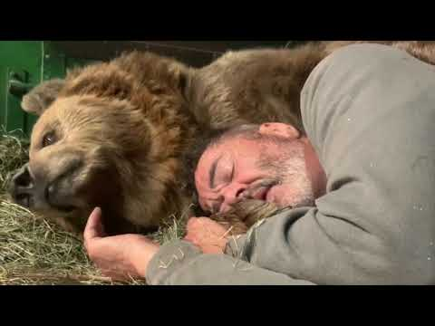 Cledus T. Party with Cledus & Judy - This Guy is a Human Teddy Bear for a Bear!