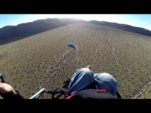 Ended Up in a Waterfall, Paramotor Camping
