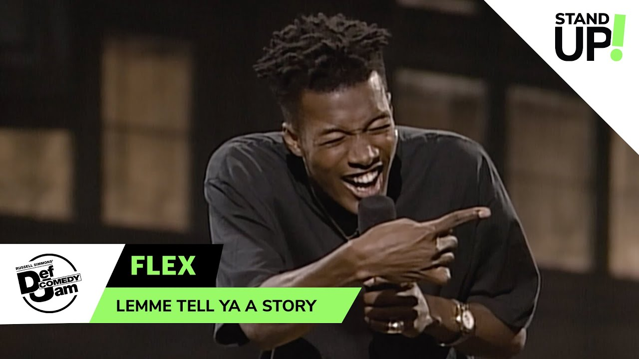 Comedian Flex Has a Wild Story About His Grandpa | Def Comedy Jam | LOL StandUp!