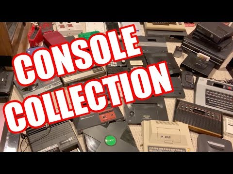 Video Game Console Collection by Mike Matei