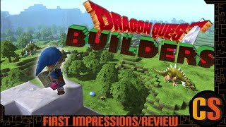 DRAGON QUEST BUILDERS -  PS4 REVIEW (Video Game Video Review)