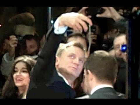 Skyfall James Bond 007 Paris France premiere mercredi 24 octobre 2012 UGC Normandy