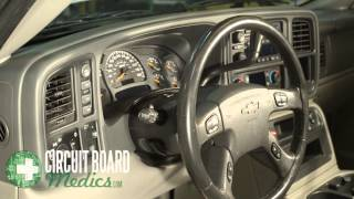 Chevy Instrument Cluster Repair