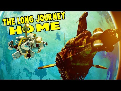 SURVIVING LIGHT YEARS FROM EARTH! Ice Planets + Water Worlds - The Long Journey Home Part 1 Gameplay
