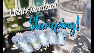 Learn To Water Colour Layered Stamp!