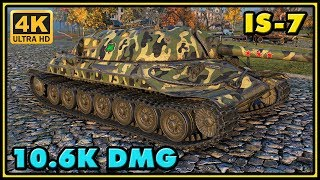 World of Tanks | IS-7 - 9 Kills - 10,6K Damage Gameplay