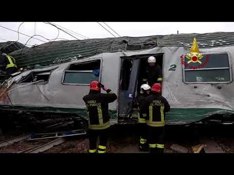 Milano. Treno Trenord deraglia tra Segrate e Pioltello, due morti e decine di feriti