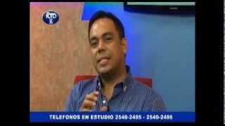 Entrevista Eduardo Posadas por UTH promoviendo CDE-Valle de Sula