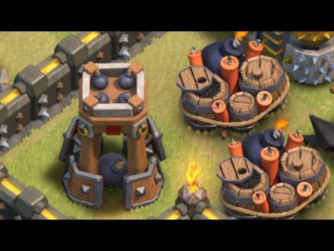 Bomb Tower - How To Use At TH9 (Clash Of Clans)