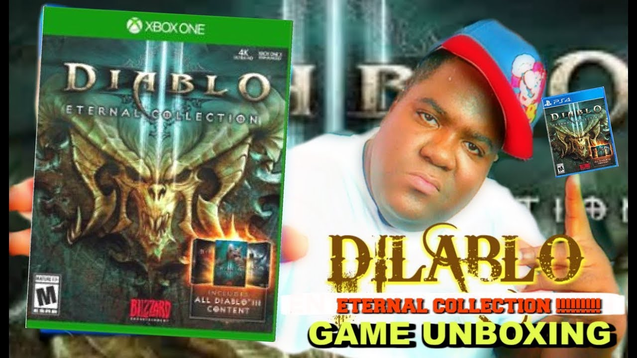 Diablo III Eternal Collection (Xbox One) Unboxing!!